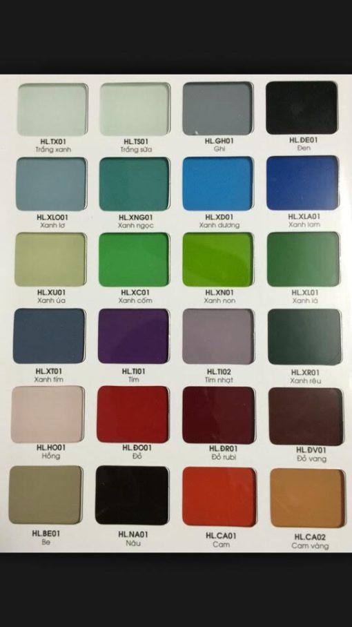 bảng màu kính HL 510x908 - Bảng màu kính bếp HẢI LONG