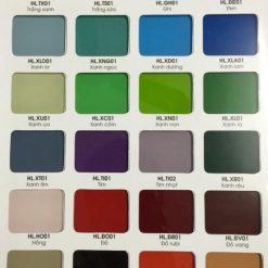 bảng màu kính HL 247x247 - Bảng màu kính bếp HẢI LONG