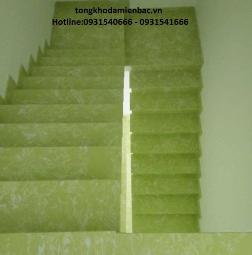 IMG 29131 510x516 - Đá cầu thang xanh ngọc nhập khẩu Onyx