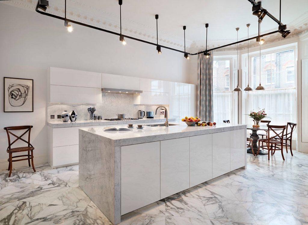 da marble lat nen 2 - Nên dùng đá marble lát nền phòng gì là phù hợp nhất?