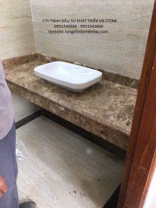 LAVABO1 225x300 - Đá lavabor Dark Emparador - Italia