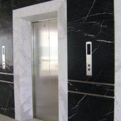 da thang may da marble 247x247 - Đá thang máy cẩm thạch đen chỉ trắng nhập khẩu chính hãng