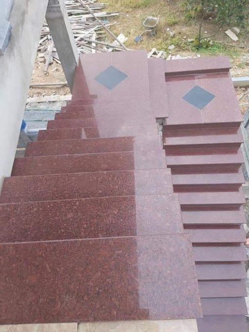DA GRANITE DO RU BY NHAP KHAU AN DO - Granite Đỏ ruby Nhập khẩu: Ấn Độ