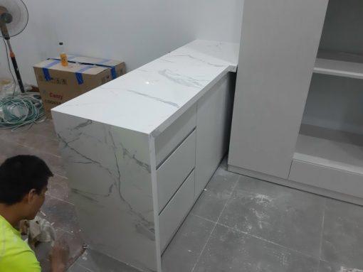 da op bep1 12 510x383 - Đá trắng vân dây nhân tạo